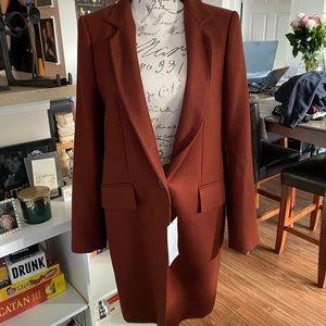 Zara Woman Rust blazer NWT